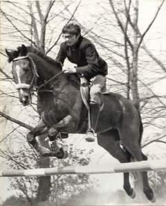 Zawody konne organizowane w ramach Wiosny Studenckiej - maj 1974 r.